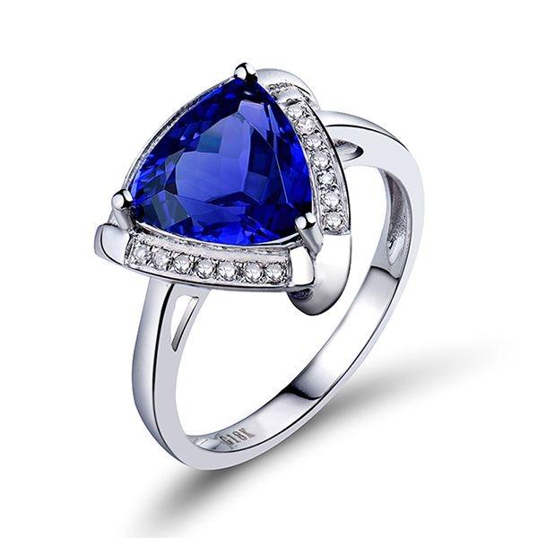 Gems and Diamond Ring